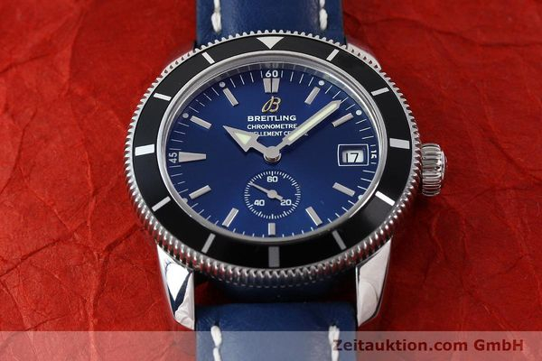 Used luxury watch Breitling Superocean steel automatic Kal. B37 ETA 2895-2 Ref. A37320  | 142277 14