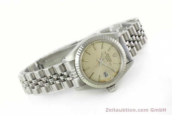 Used luxury watch Rolex Lady Date steel / white gold automatic Kal. 2030 Ref. 6917  | 142278 03