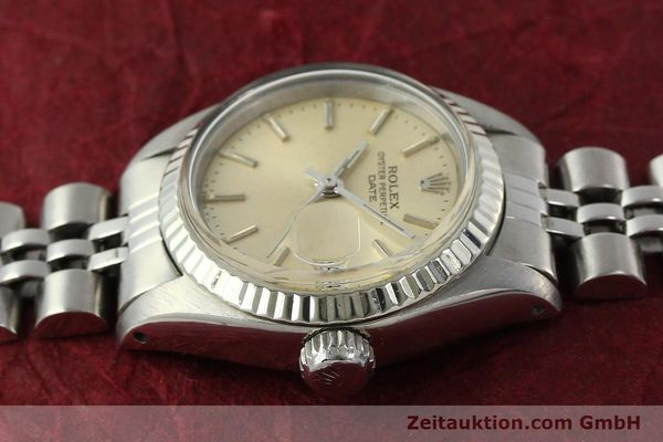 Used luxury watch Rolex Lady Date steel / white gold automatic Kal. 2030 Ref. 6917  | 142278 05