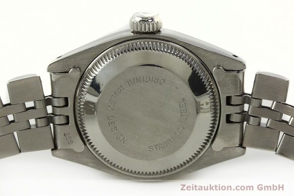 Used luxury watch Rolex Lady Date steel / white gold automatic Kal. 2030 Ref. 6917  | 142278 08