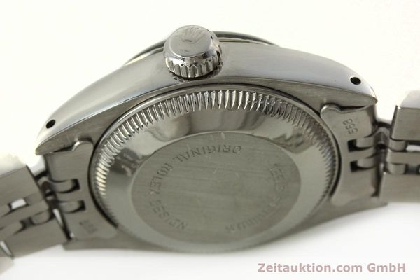 Used luxury watch Rolex Lady Date steel / white gold automatic Kal. 2030 Ref. 6917  | 142278 11
