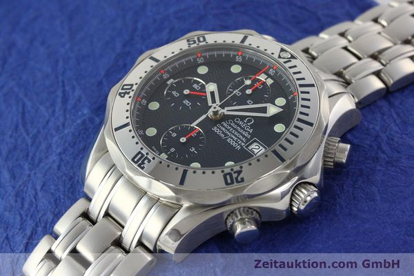 Used luxury watch Omega Seamaster chronograph steel automatic Kal. 1164  | 142279 01