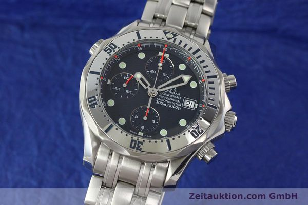 Used luxury watch Omega Seamaster chronograph steel automatic Kal. 1164  | 142279 04