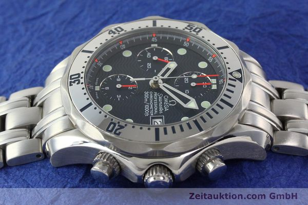 Used luxury watch Omega Seamaster chronograph steel automatic Kal. 1164  | 142279 05