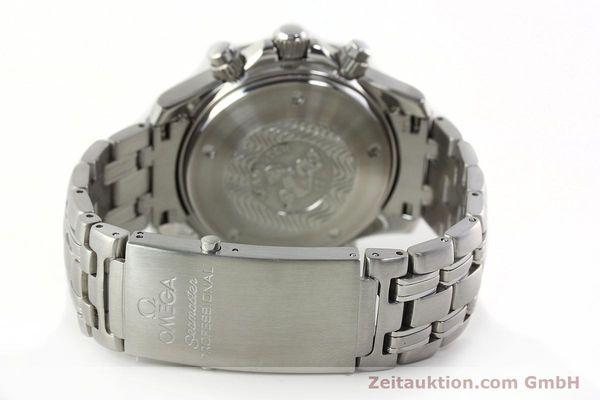 Used luxury watch Omega Seamaster chronograph steel automatic Kal. 1164  | 142279 13