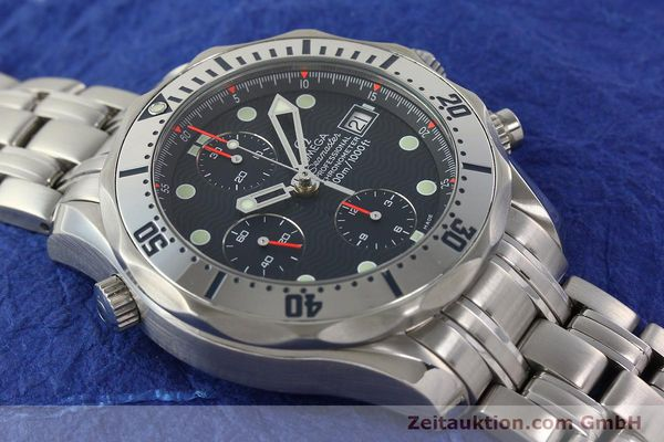 Used luxury watch Omega Seamaster chronograph steel automatic Kal. 1164  | 142279 16