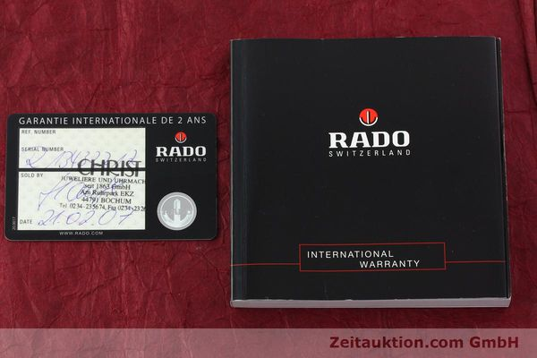 Used luxury watch Rado Sintra ceramic quartz Ref. 152.0432.3  | 142284 08