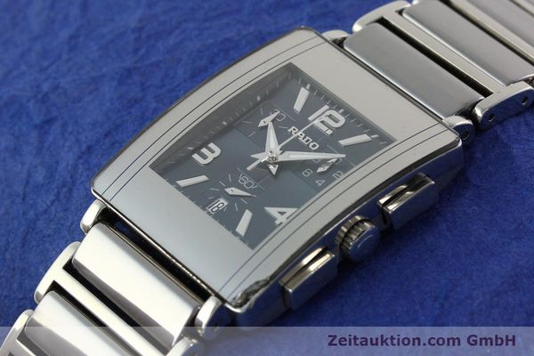Used luxury watch Rado Diastar chronograph ceramic / steel quartz Kal. ETA 251.471 Ref. R20591202  | 142285 01
