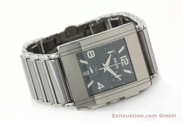 Used luxury watch Rado Diastar chronograph ceramic / steel quartz Kal. ETA 251.471 Ref. R20591202  | 142285 03