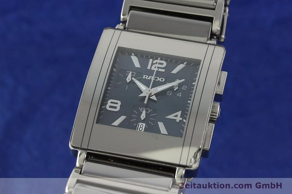 Used luxury watch Rado Diastar chronograph ceramic / steel quartz Kal. ETA 251.471 Ref. R20591202  | 142285 04