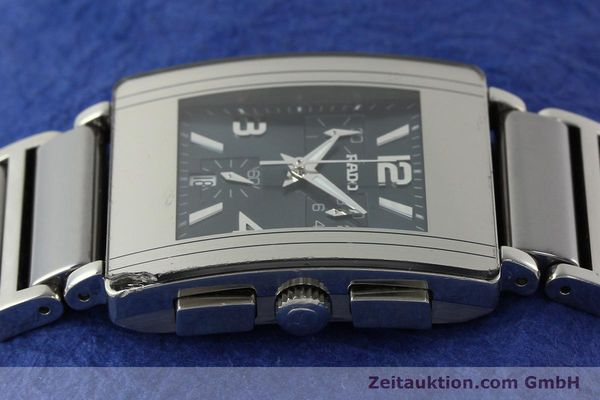 Used luxury watch Rado Diastar chronograph ceramic / steel quartz Kal. ETA 251.471 Ref. R20591202  | 142285 05