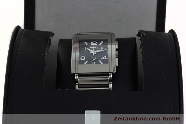 Used luxury watch Rado Diastar chronograph ceramic / steel quartz Kal. ETA 251.471 Ref. R20591202  | 142285 07