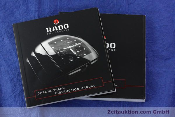Used luxury watch Rado Diastar chronograph ceramic / steel quartz Kal. ETA 251.471 Ref. R20591202  | 142285 12
