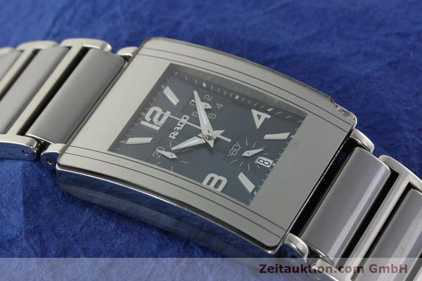 Used luxury watch Rado Diastar chronograph ceramic / steel quartz Kal. ETA 251.471 Ref. R20591202  | 142285 14
