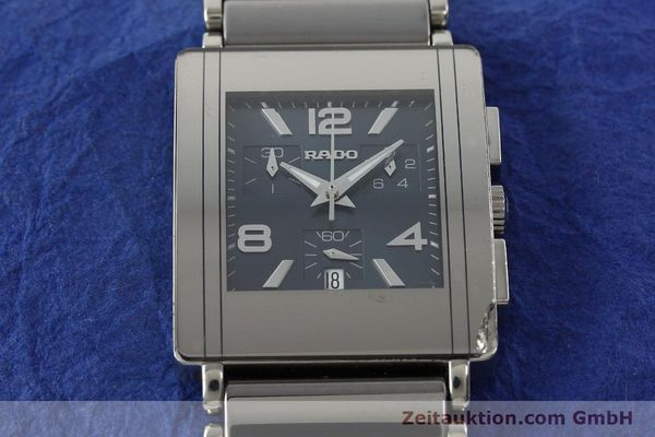 Used luxury watch Rado Diastar chronograph ceramic / steel quartz Kal. ETA 251.471 Ref. R20591202  | 142285 15