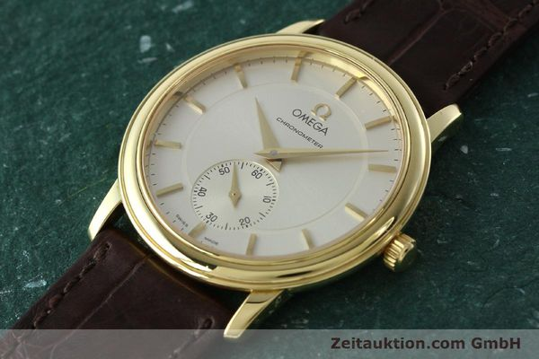 Used luxury watch Omega De Ville 18 ct gold manual winding Kal. 652 Ref. 46203102  | 142286 01