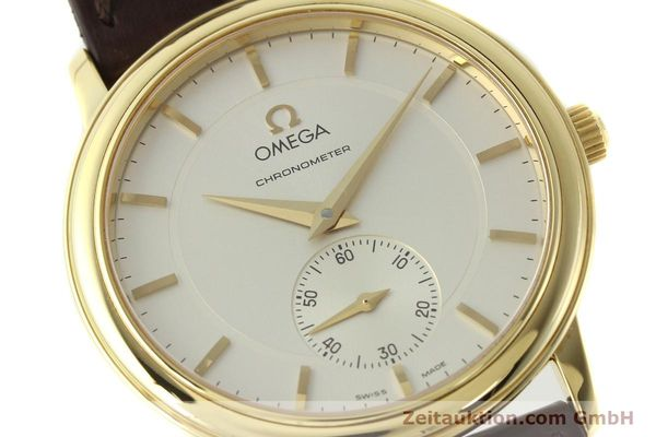 Used luxury watch Omega De Ville 18 ct gold manual winding Kal. 652 Ref. 46203102  | 142286 02