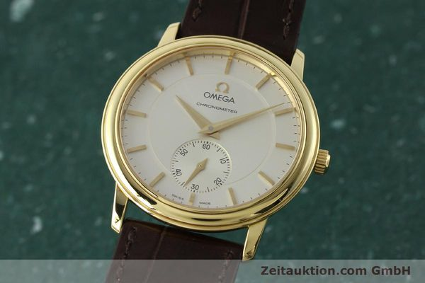 Used luxury watch Omega De Ville 18 ct gold manual winding Kal. 652 Ref. 46203102  | 142286 04