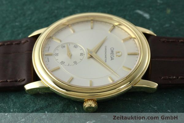 Used luxury watch Omega De Ville 18 ct gold manual winding Kal. 652 Ref. 46203102  | 142286 05
