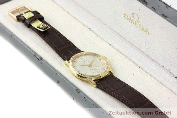 Used luxury watch Omega De Ville 18 ct gold manual winding Kal. 652 Ref. 46203102  | 142286 07