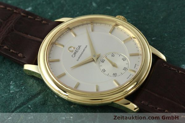 Used luxury watch Omega De Ville 18 ct gold manual winding Kal. 652 Ref. 46203102  | 142286 15