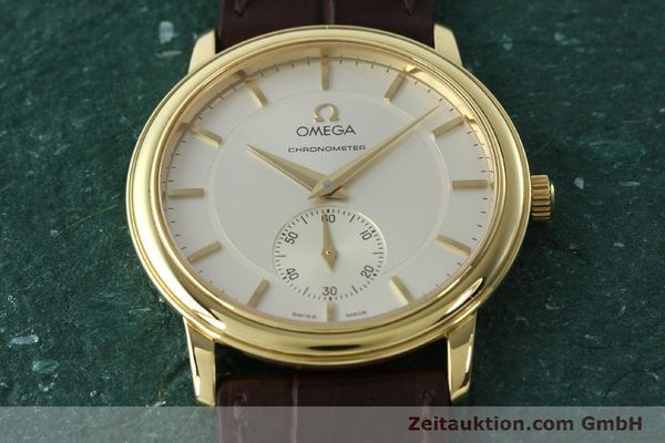 Used luxury watch Omega De Ville 18 ct gold manual winding Kal. 652 Ref. 46203102  | 142286 16