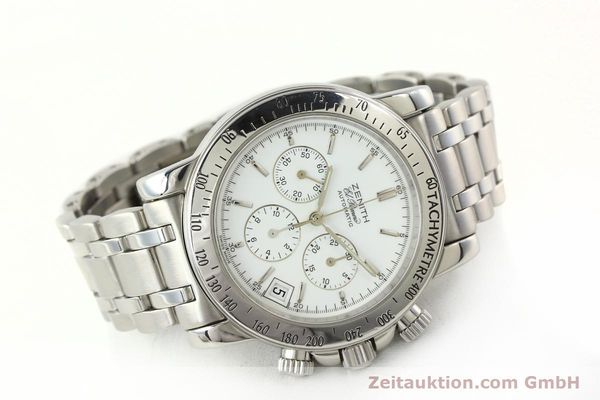 Used luxury watch Zenith Elprimero chronograph steel automatic Kal. 400 Ref. 02.0360.400  | 142287 03