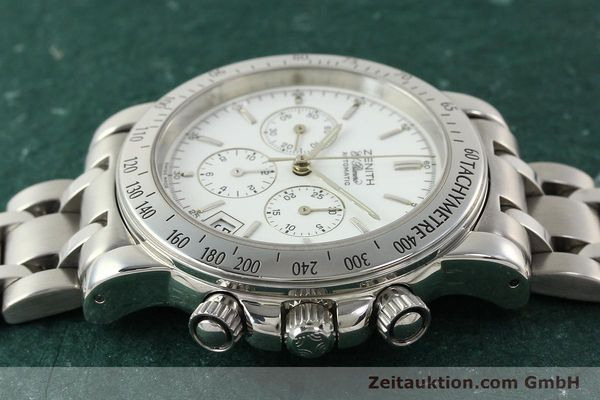Used luxury watch Zenith Elprimero chronograph steel automatic Kal. 400 Ref. 02.0360.400  | 142287 05