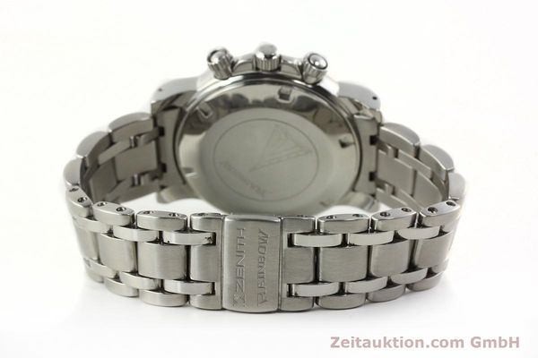 Used luxury watch Zenith Elprimero chronograph steel automatic Kal. 400 Ref. 02.0360.400  | 142287 13