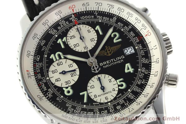 Used luxury watch Breitling Navitimer chronograph steel automatic Kal. B13 ETA 7750 Ref. A13322  | 142288 02