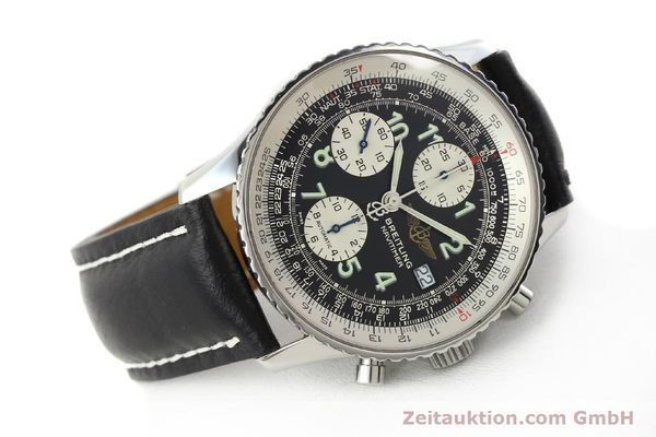 Used luxury watch Breitling Navitimer chronograph steel automatic Kal. B13 ETA 7750 Ref. A13322  | 142288 03
