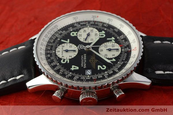 Used luxury watch Breitling Navitimer chronograph steel automatic Kal. B13 ETA 7750 Ref. A13322  | 142288 04