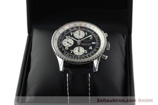 Used luxury watch Breitling Navitimer chronograph steel automatic Kal. B13 ETA 7750 Ref. A13322  | 142288 06