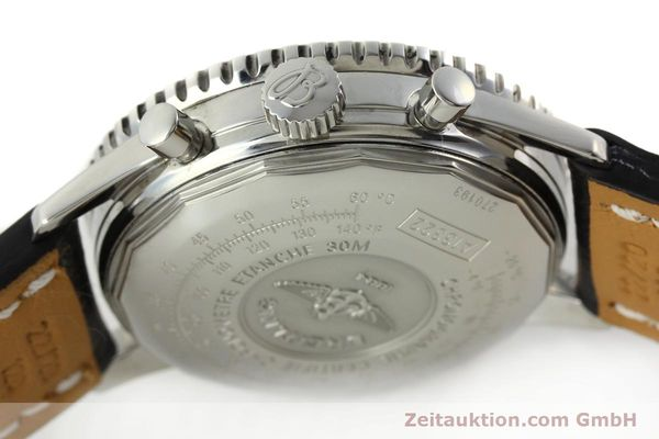 Used luxury watch Breitling Navitimer chronograph steel automatic Kal. B13 ETA 7750 Ref. A13322  | 142288 07