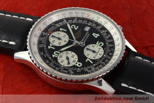 Used luxury watch Breitling Navitimer chronograph steel automatic Kal. B13 ETA 7750 Ref. A13322  | 142288 12