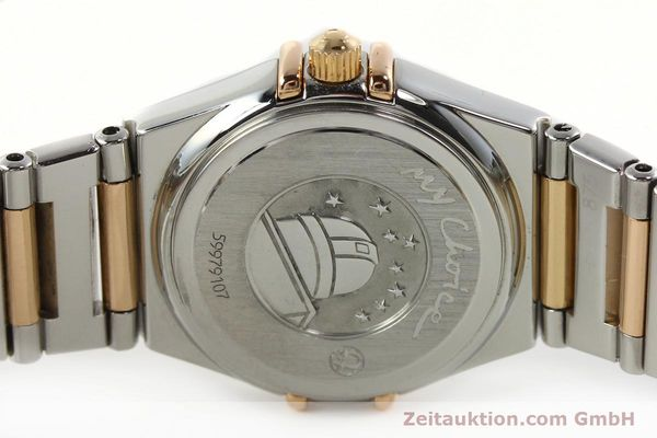 montre de luxe d occasion Omega Constellation acier / or  quartz Kal. 1456 Ref. 13687100  | 142289 09