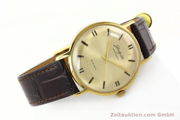Used luxury watch Glashütte Spezimatic gold-plated automatic Kal. 74  | 142290 03
