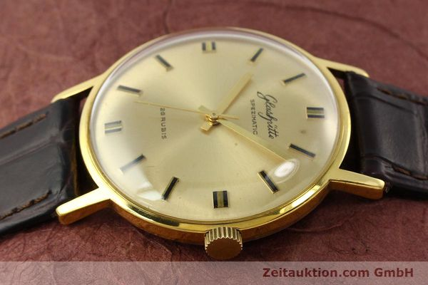 Used luxury watch Glashütte Spezimatic gold-plated automatic Kal. 74  | 142290 05