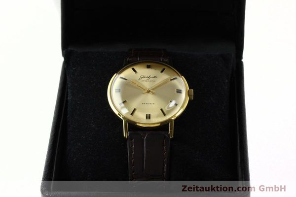 Used luxury watch Glashütte Spezimatic gold-plated automatic Kal. 74  | 142290 07