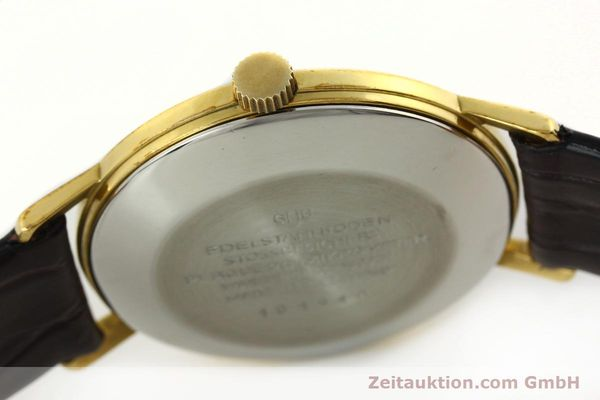 Used luxury watch Glashütte Spezimatic gold-plated automatic Kal. 74  | 142290 08