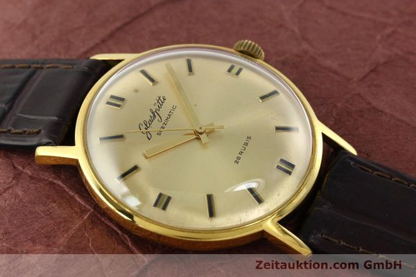 Used luxury watch Glashütte Spezimatic gold-plated automatic Kal. 74  | 142290 12