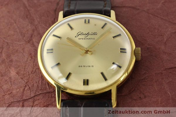 Used luxury watch Glashütte Spezimatic gold-plated automatic Kal. 74  | 142290 13
