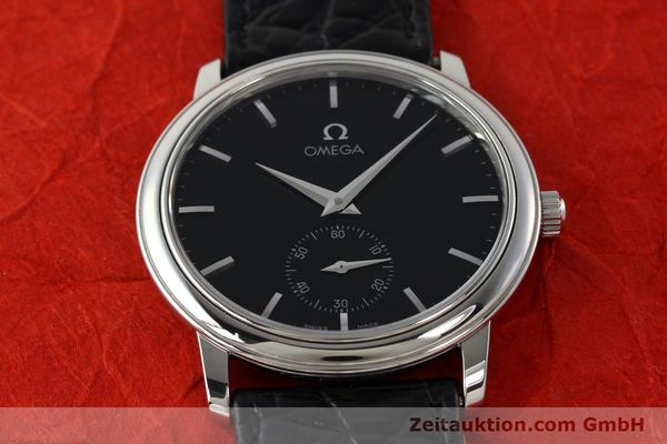 Used luxury watch Omega De Ville steel manual winding Ref. 48205101  | 142294 16