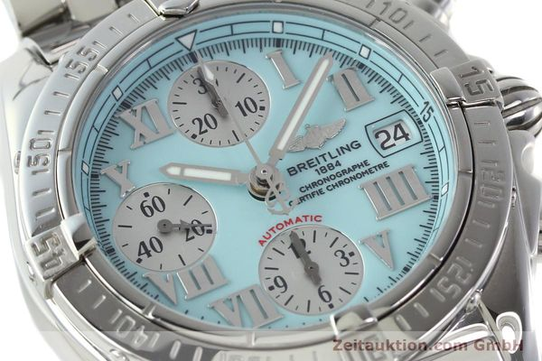 Used luxury watch Breitling Chronomat chronograph steel automatic Kal. B13 ETA 7750 Ref. A13358  | 142295 02