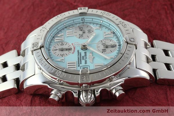 Used luxury watch Breitling Chronomat chronograph steel automatic Kal. B13 ETA 7750 Ref. A13358  | 142295 05