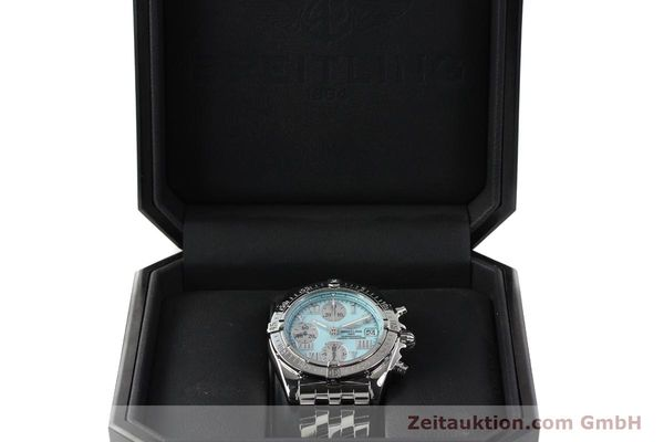 Used luxury watch Breitling Chronomat chronograph steel automatic Kal. B13 ETA 7750 Ref. A13358  | 142295 07