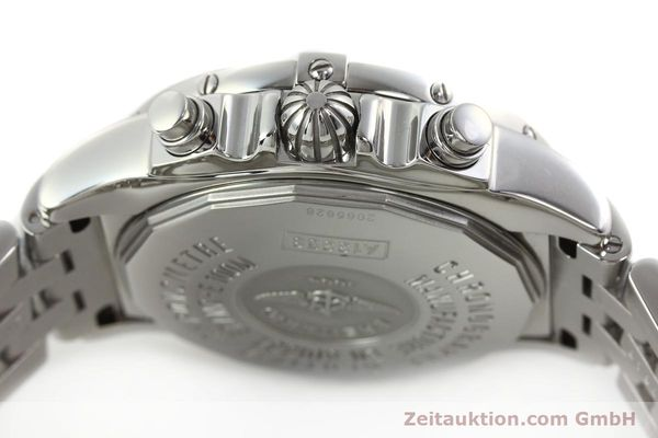 Used luxury watch Breitling Chronomat chronograph steel automatic Kal. B13 ETA 7750 Ref. A13358  | 142295 11