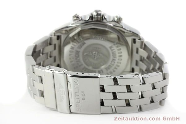 Used luxury watch Breitling Chronomat chronograph steel automatic Kal. B13 ETA 7750 Ref. A13358  | 142295 12