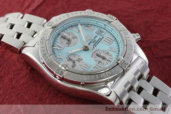 Used luxury watch Breitling Chronomat chronograph steel automatic Kal. B13 ETA 7750 Ref. A13358  | 142295 17