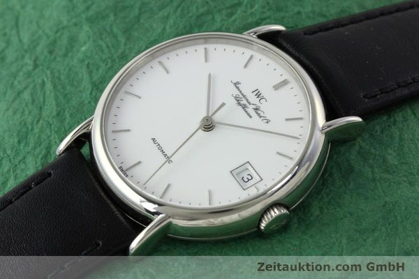 Used luxury watch IWC Portofino steel automatic Kal. 37521 Ref. 3513  | 142296 01